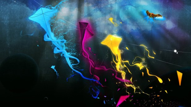 1920 × 1080 Abstract Kite abstract hd wallpaper 1080p