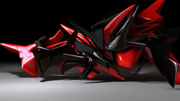 1920 × 1080 Robot Black, Red Hd Wallpapers Background 1080p