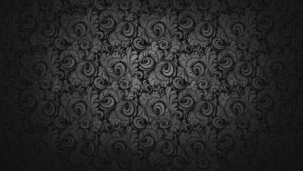 1920 × 1080 Glorious Black Design 1080p Desktop Wallpaper