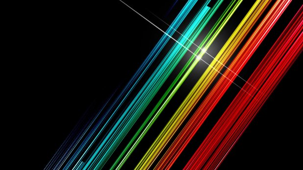 1920 × 1080 Color Line Abstract Design 1080p
