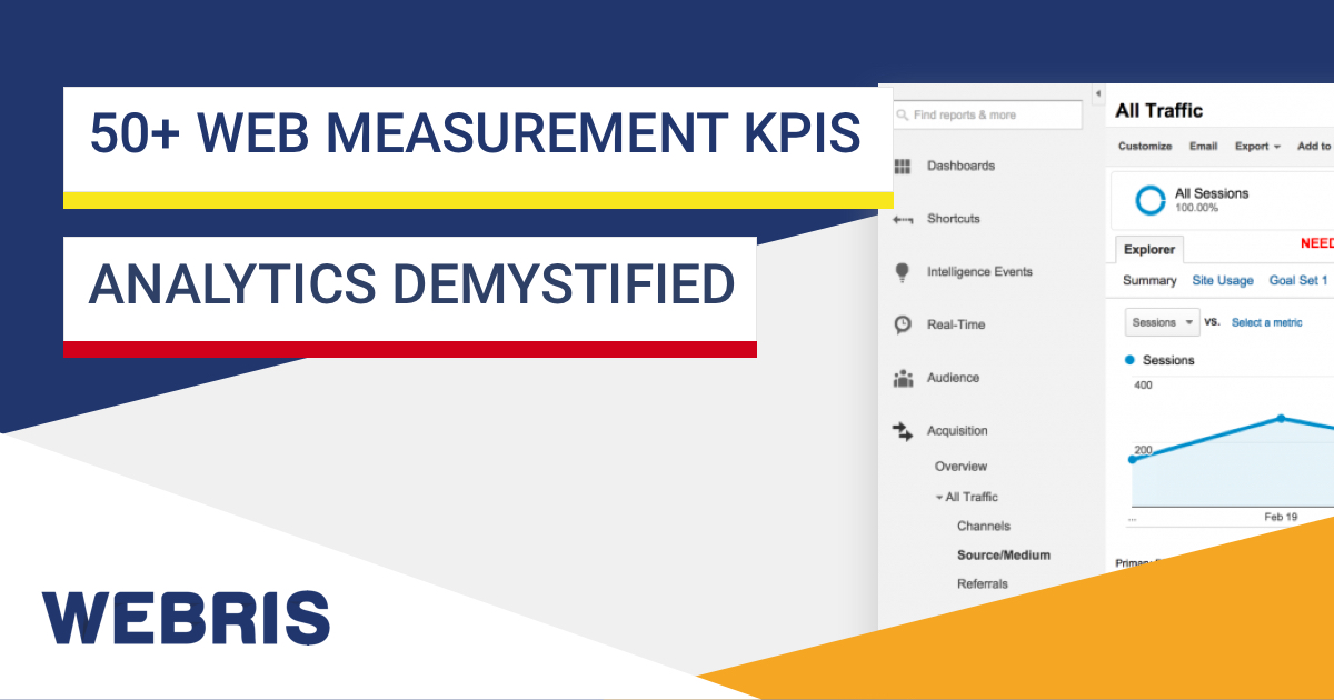 50-web-measurement-kpis-analytics-demystified