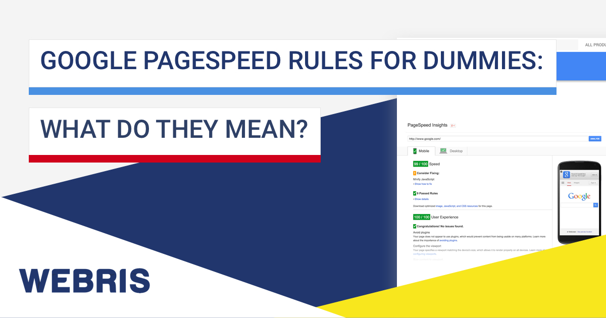 google-pagespeed-rules-for-dummies-what-do-they-mean
