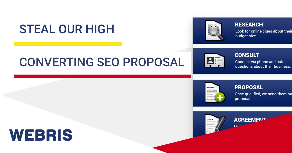 Steal Our High Converting Seo Proposal