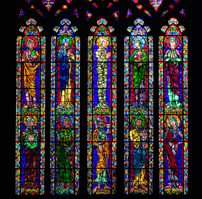 Stained Glass of Duke University Chapel