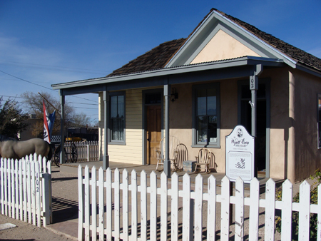 THE EARP HOUSE IN TOMBSTONE Webs And Threads Travels