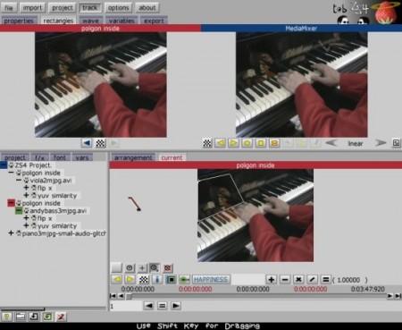 sekmesi zs4 video editörü