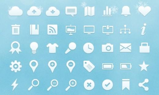 Ücretsiz Vektör Web Icons