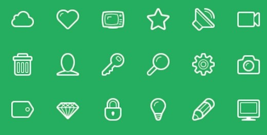 Linecons Icon Set