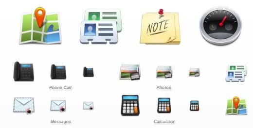 Mobil Icon Set