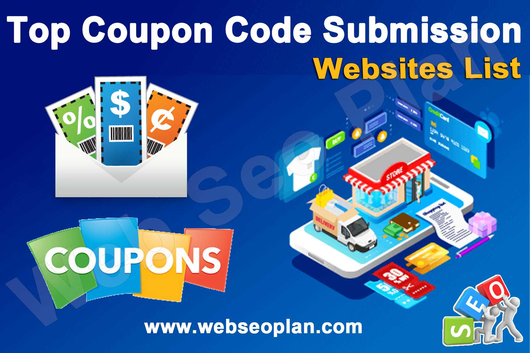 Top Coupon Code Submission Site List