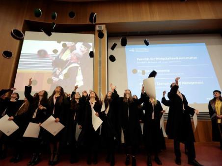 Diplomverleihung in Bozen  Free University of Bozen  Bolzano