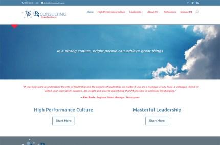 P4 Consulting portfolio image
