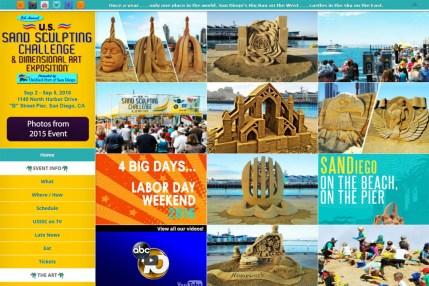 US Sand Sculpting Challenge portfolio image