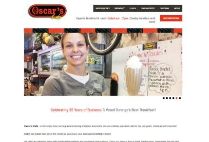 Oscar's Cafe portfolio image