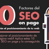 10 Factores de SEO on page que mejorarán tu posicionamiento web