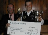Fundraising Andy Symons-Rowe England Amatuer Finalist 2007