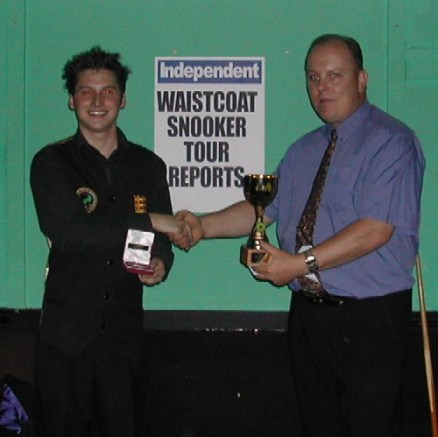 Gold Waistcoat Tour Event 1 Winner 2005-6