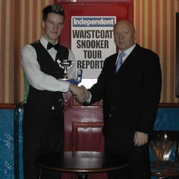 Gold Waistcoat Tour Event 3 Runner-up 2005-6