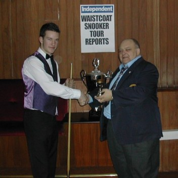 Gold Waistcoat Tour Event 6 Runner-up 2005-6