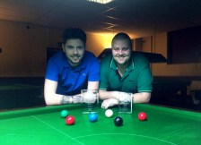 Gold Waistcoat Tour Event 4 finalists - Harvey Chandler & Andy Symons 2016-17