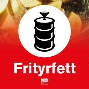Klebemerke Frityrfett
