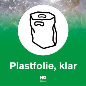 Klebemerke Plastfolie klar