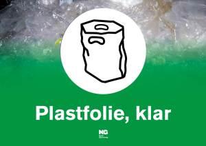 Klebemerke A4 PLASTFOLIE KLAR