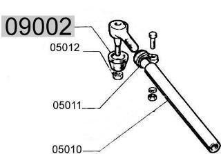 Gummistulpe für Spurstange, ital. Produktion Fiat 500/126