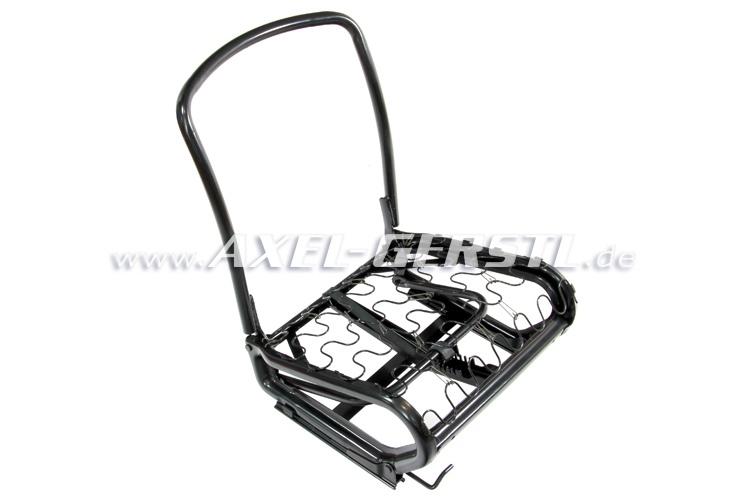 Intelaiatura sedile (ribaltabile) con guide, bloccaggi e
