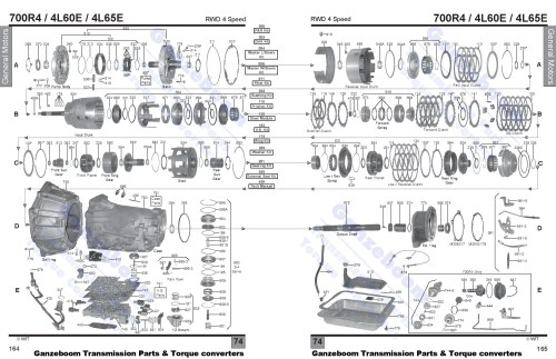 small resolution of 4l60e bearing diagram