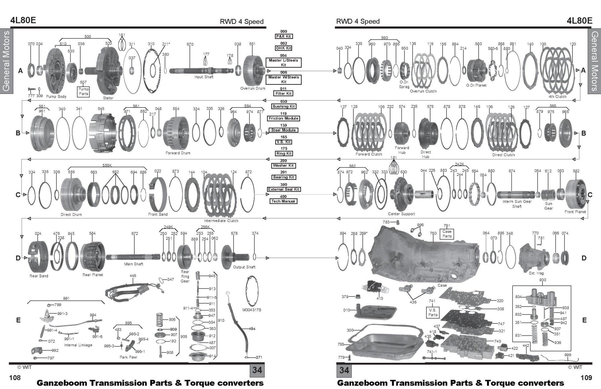 hight resolution of 4l80e transmission rebuild diagram wiring diagrams my 4l80e blow up diagram wiring diagram experts 4l80e transmission