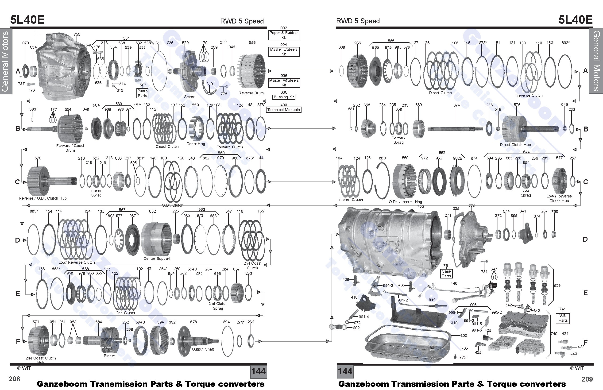 [WRG-9599] 5l40e Transmission Wiring Diagram