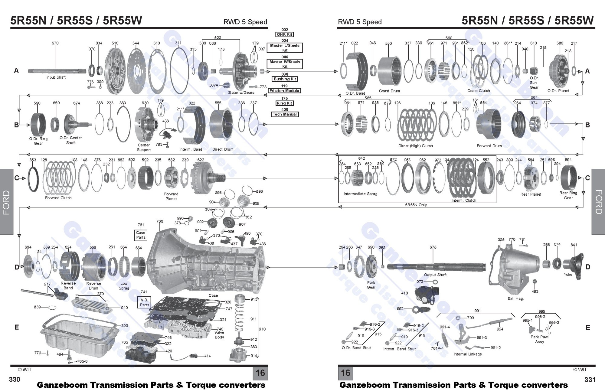 hight resolution of 5r55w diagram