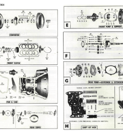fordomatic 2 speed 1959 1964 fordomatic transmission diagram [ 2504 x 1718 Pixel ]
