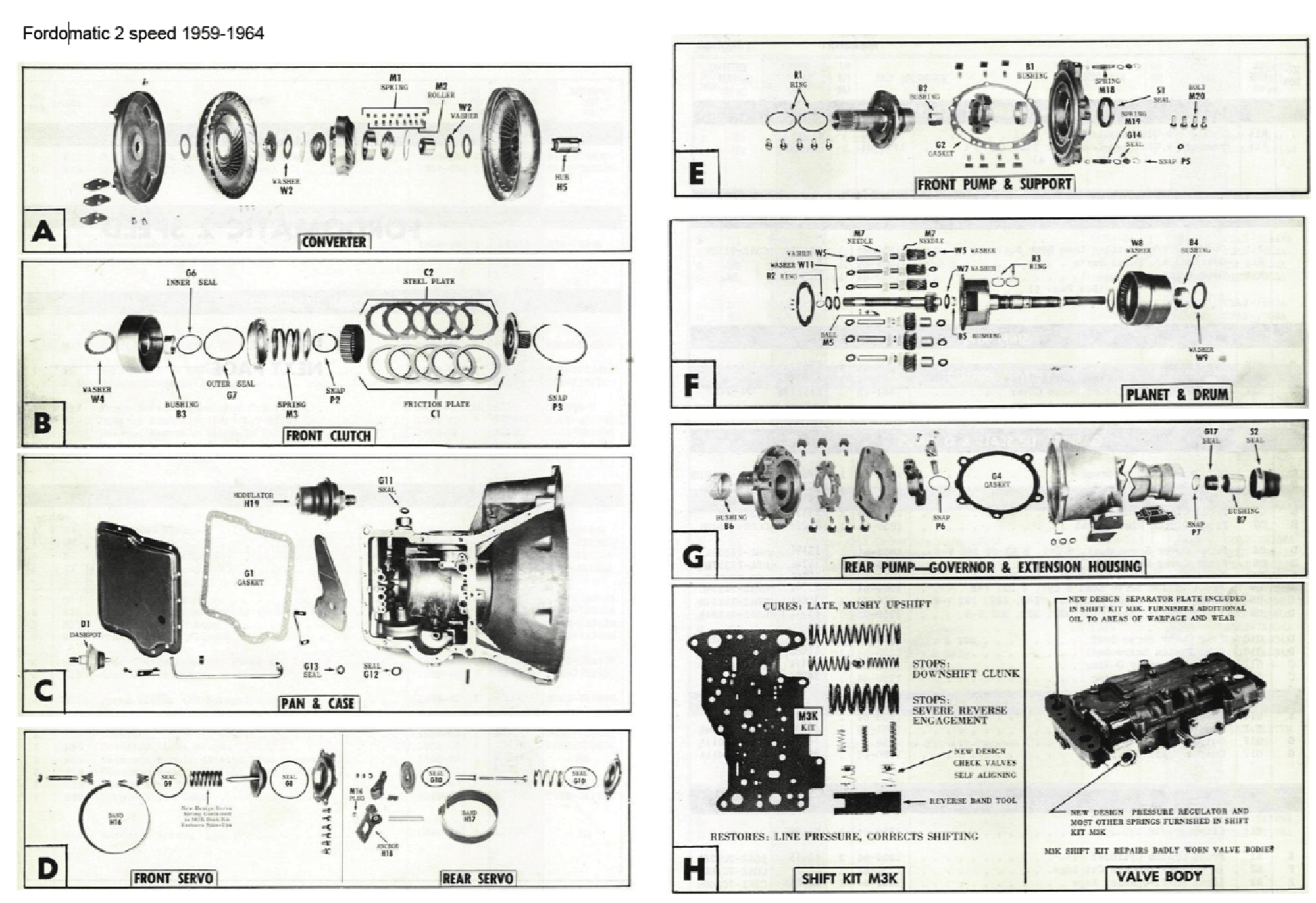hight resolution of fordomatic 2 speed 1959 1964 fordomatic transmission diagram