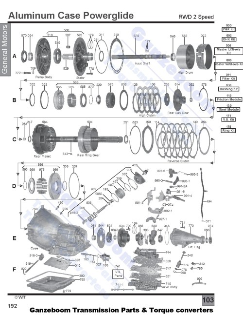 small resolution of powerglide transmission diagram wiring diagram paper 1954 powerglide transmission diagram