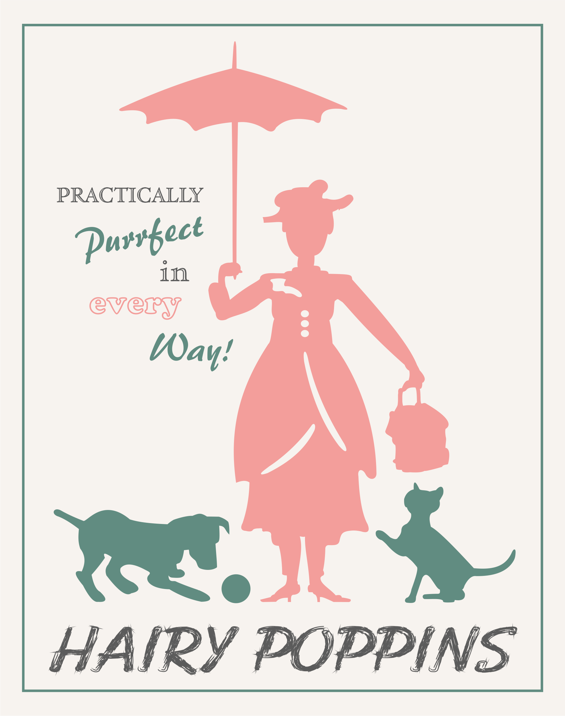 Hairy Poppins Webshop