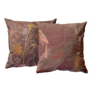 Kussen NIN-NIT d.roze print 50 x 50 cm