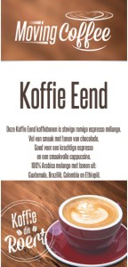 Koffiebonen koffie eend