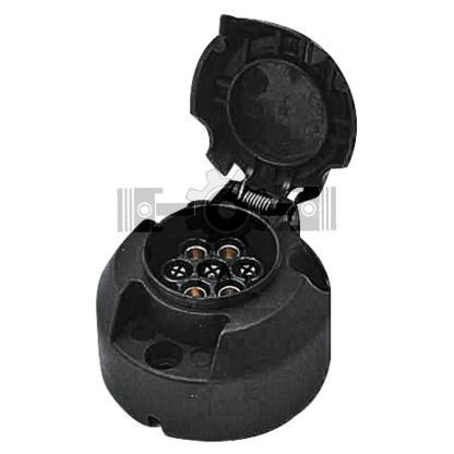 — 50743905 — kunststof, met schroefaansluitingen DIN ISO 1724, uitneembaar binnenwerk, passend voor stekker 50743 —