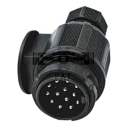 — 50743920 — ISO 11446, kunststof-schroefaansluiting 13-polig —
