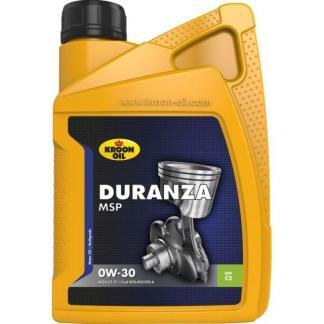 1 L flacon Kroon-Oil Duranza MSP 0W-30