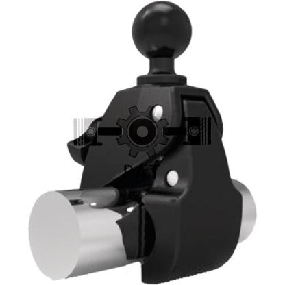 — 5070010035 — zwart minimale afmetingen (vlakke oppervlakten): 0 tot 5,59 cm (0 tot 2,2 inch) <br> klemafmetingen: —