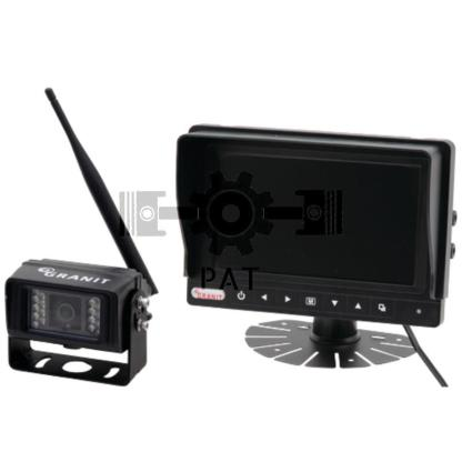 "— 50700308 — LCD kleurendisplay met 7"" kleurenmonitor, camera IP68 220 x 149 x 84 —"