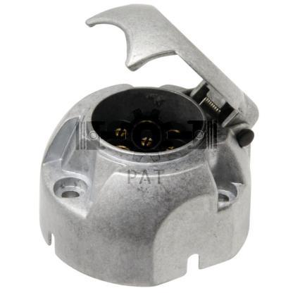 — 50743910 — metaal met schroefaansluitingen DIN ISO 1724, uitneembaar binnenwerk, passend voor stekkers 50743895 —