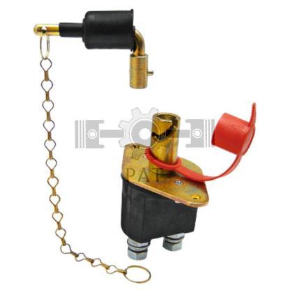 — 50770465016 — sleutel uittrekbaar, inbouwopening 22,5 mm, gatafstand 100 mm, beschermd tegen water, met stofbesche —