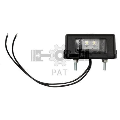 — 50784750017L — constructie met 2 LEDs, 12V-24V,  met 0, 2m aansluitingskabel, gatafstand: 44 mm 12V / 24V-LED —