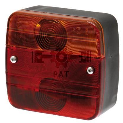 — 70718022 — achter-, rem-, knipperlicht,   met kentekenverlichting 12V21WK/P21W, <br> 12V21/5WK/P21/5W —