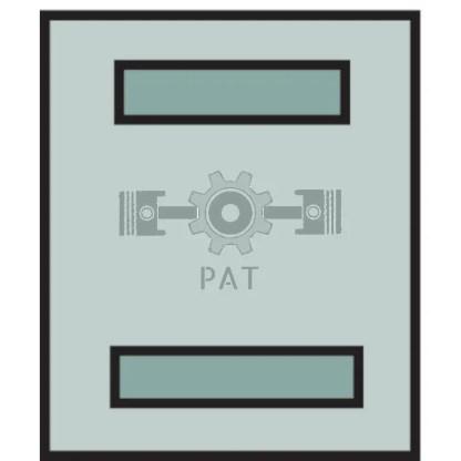 — 50750290274 — 2-polig, 6,3 mm, voor vlakstekkerhulzen,  met vergrendelingslipje —