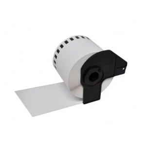 Labelprinter tape DK-11219 12x12mm 1200 labels | Brother P-Touch QL-1050/ QL-1060N/ QL-500A/ QL-560VPYX1/ QL-570/ QL-580N/ QL-650TD/ QL-700/ QL-710W/